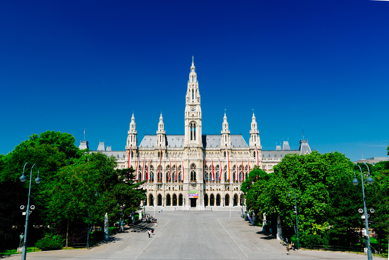City Hall of Vienna (c) VIENNA SIGHTSEEING TOURS/Bernhard Luck