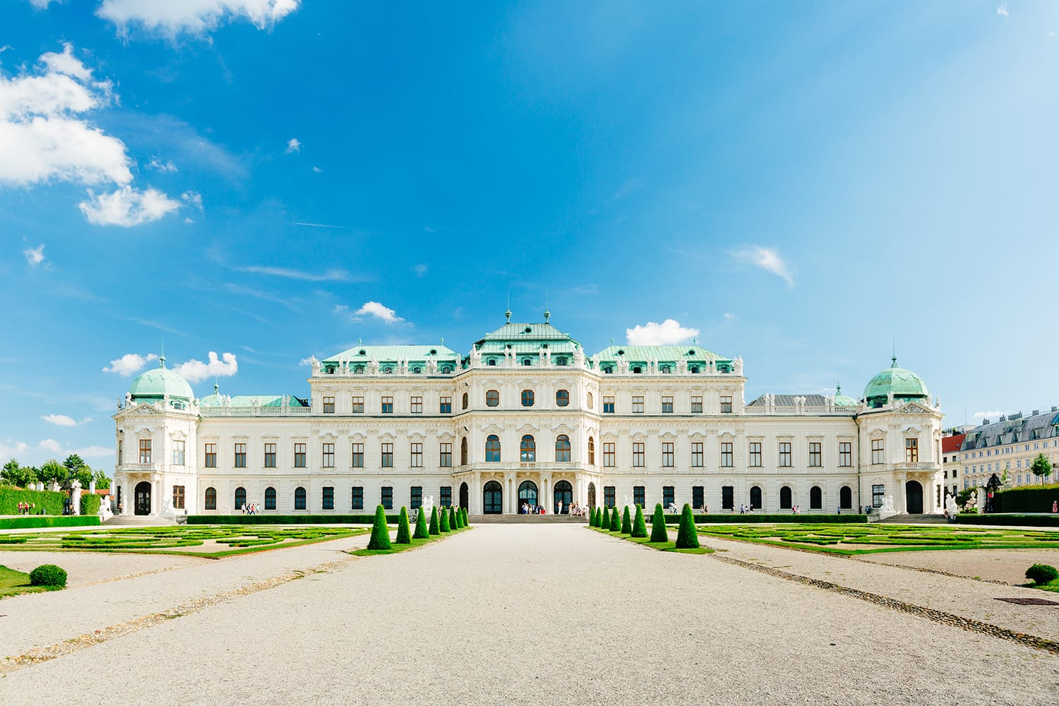 Belvedere Palace in Vienna (c) VIENNA SIGHTSEEING TOURS/Bernhard Luck